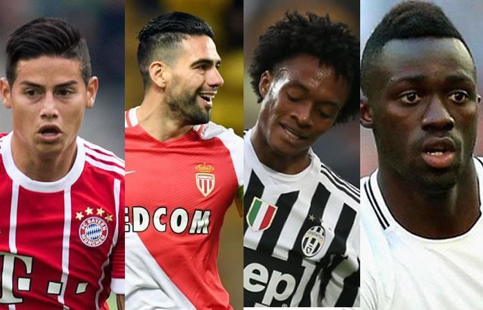 Champions League: Así le fue a los colombianos en el debut