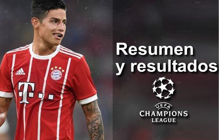 Champions League: Resumen, goles y resultados de la fecha 1