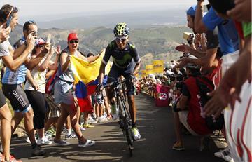Colombia y Francia, países con más victorias de etapa en las tres grandes en 2017