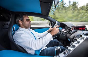Juan Pablo Montoya bate sorprendente récord mundial de aceleración