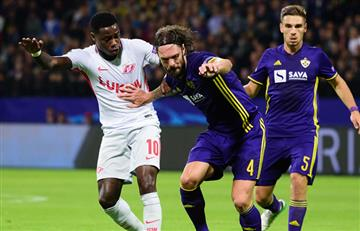 Maribor y Spartak empataron en el debut de la Champions