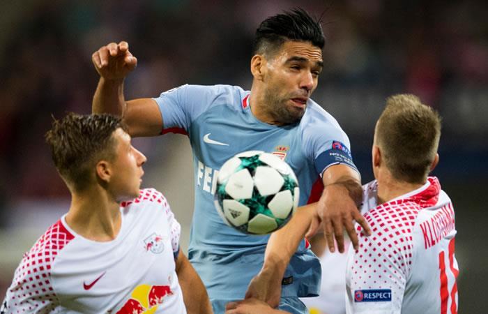 Mónaco con Falcao empata con Leipzig en el debut de la Champions