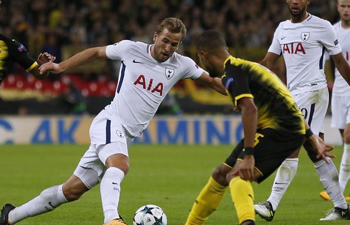 Tottenham ganó al Borussia Dortmund en un partidazo de Champions