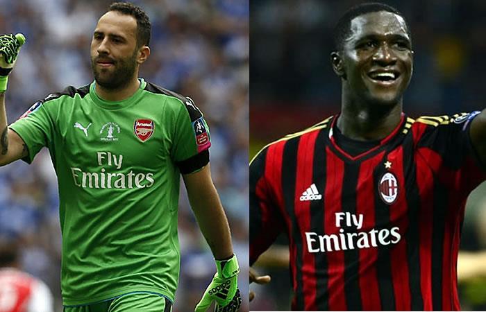Arsenal de Ospina y Milan de Zapata se lucieron en la Europa League