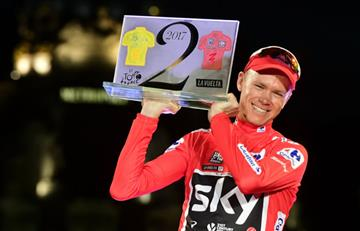 Chris Froome no descarta llevarse el Giro de Italia 2018