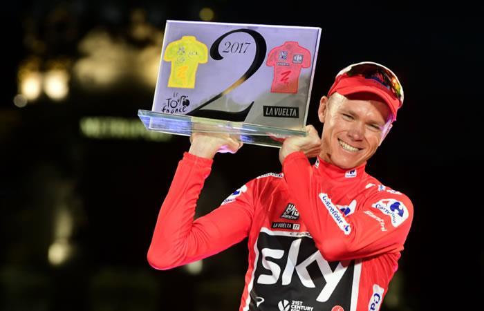 Chris Froome no descarta llevarse el Giro de Italia 2018