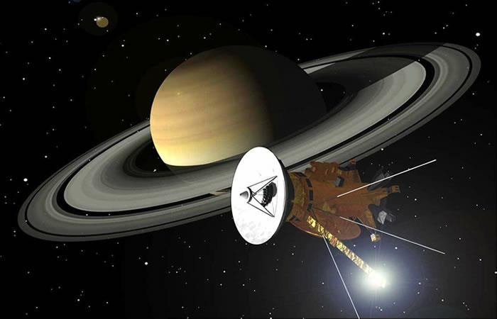 NASA: Muy pronto el'Gran Final' de Cassini