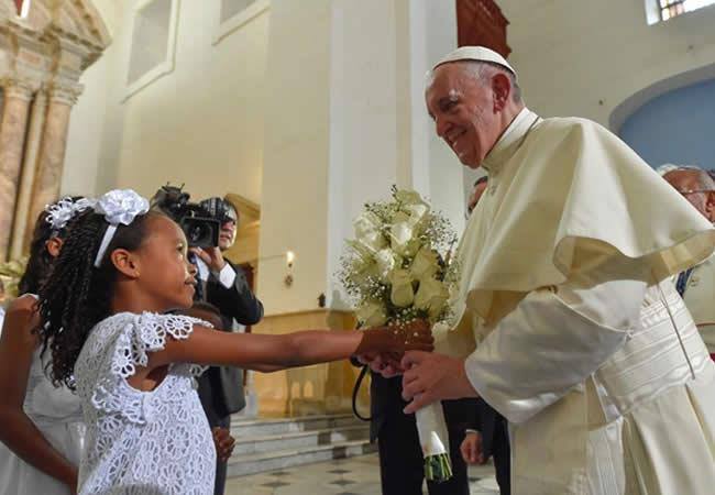 Emotivo video del Papa Francisco en agradecimiento a Colombia