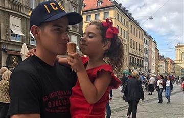 James Rodríguez: La foto de su hija Salomé que enternece las redes