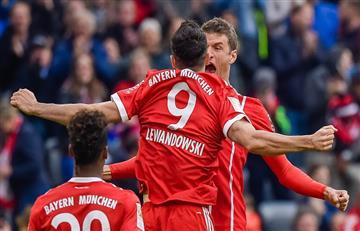 Bayern Múnich mostró buen fútbol y ganó 4-0