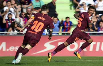 Liga española: Baja sensible para Barcelona