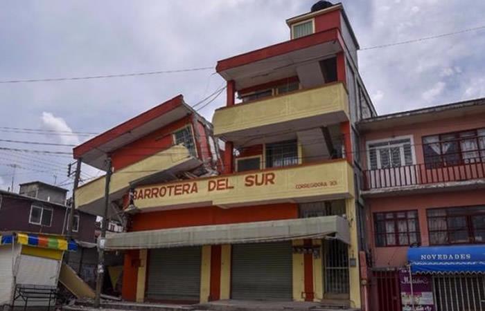 Sismo de 5,9 volvió a sacudir a México