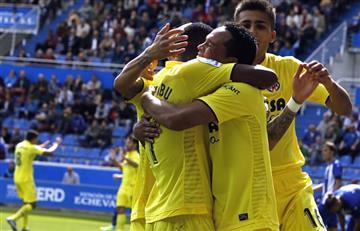 Carlos Bacca anota con el Villarreal y es figura del encuentro