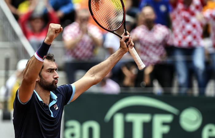 Copa Davis: Cilic vence a Giraldo y termina con el sueño colombiano