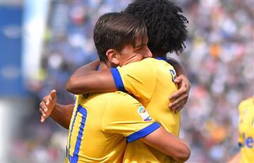 Dybala anota triplete y Cuadrado titular en la victoria de la Juventus