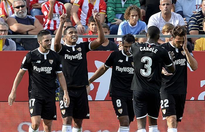 Luis Fernando Muriel lleva al Sevilla a la victoria