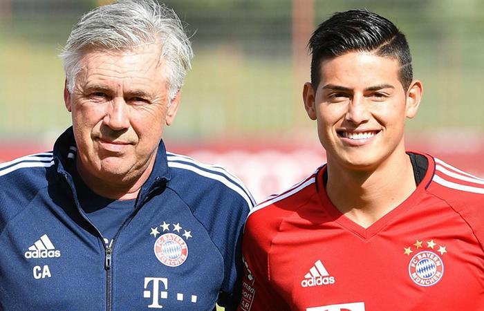 James Rodríguez: Ancelotti dejó ver lo importante que es el colombiano para él