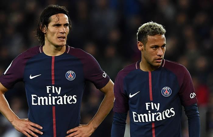 PSG en problemas por el ego de Neymar y Cavani