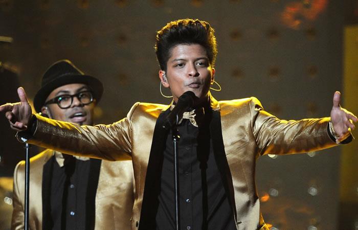 Bruno Mars se presentaría en Colombia a prinicipios de 2018