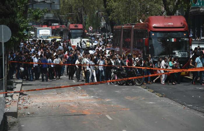 Galería: Terremoto en México de 7,1 derrumbó varios edificios