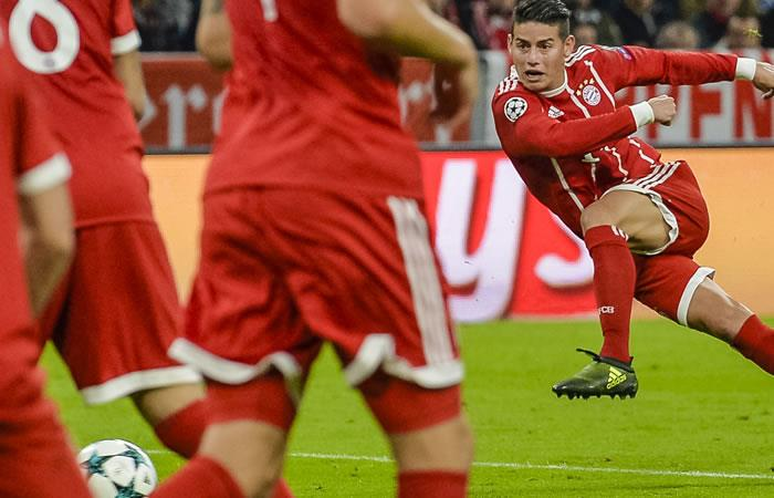 James Rodríguez podría ser titular ante el Schalke en la Bundesliga