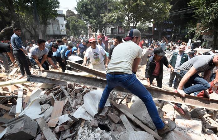 Terremoto en México: Impactantes imágenes del sismo de 7,1