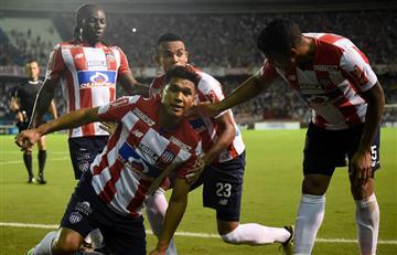 Copa Sudamericana: Junior goleó a Cerro Porteño y clasifica cuartos