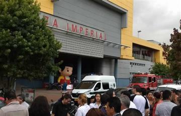 Bogotá: Evacúan C.C. Plaza Imperial por amenaza de explosivos