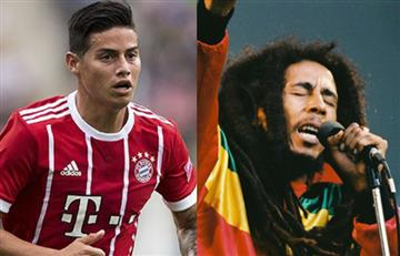James Rodríguez: Nieto de Bob Marley muestra admiración por el colombiano