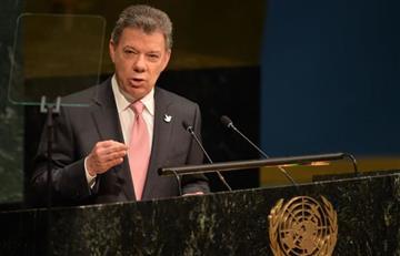 Juan Manuel Santos realizó su última alocución ante la ONU