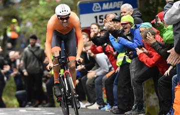Mundial de Ciclismo: Tom Dumoulin nuevo campeón del mundo de contrarreloj