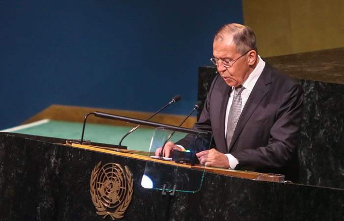 Amenaza de uso de la fuerza contra Venezuela es 'inaceptable': Lavrov