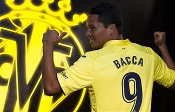 Carlos Bacca jugó con el Villarreal pero cortó su racha goleadora