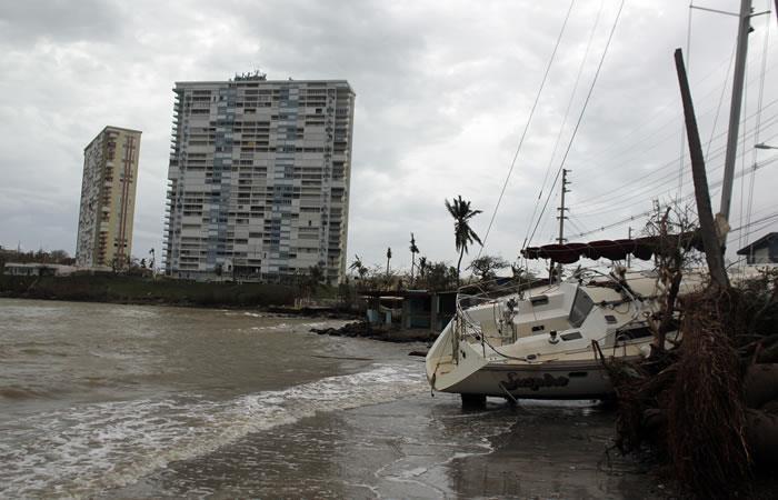 Huracán María: Puerto Rico se encuentra en