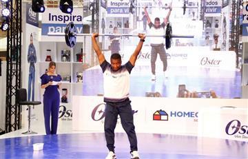 Jóvenes promesas del deporte comparten con medallistas colombianos