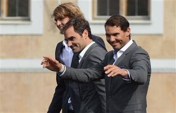 Rafael Nadal y Roger Federer por primera vez juntos en un mismo equipo