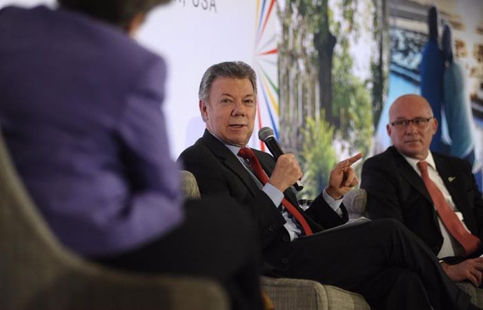 Santos propone que Alianza del Pacífico busque inversiones 'en bloque'