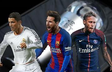 Cristiano, Messi y Neymar: Finalistas al premio The Best