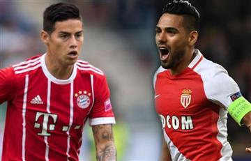 James y Falcao a cerrar una excelente semana con el Bayern y el Mónaco