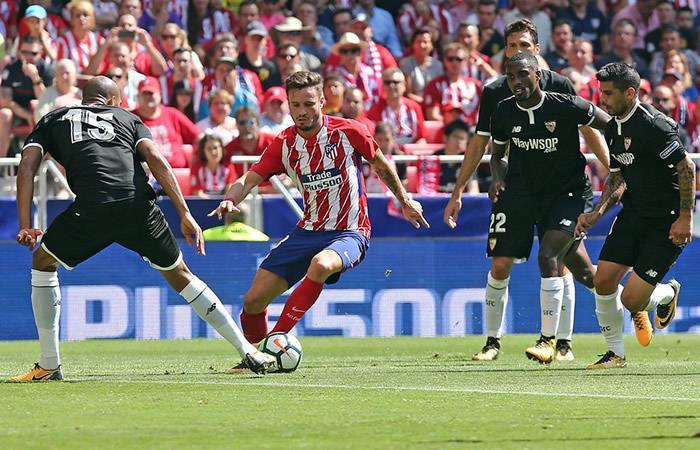 Con Muriel en la titular, el Sevilla cayó ante el Atlético de Madrid