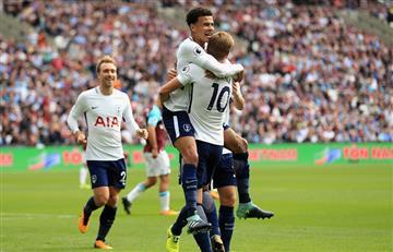 El Tottenham de Dávinson se impuso ante el West Ham