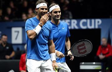 Federer y Nadal vencieron a Querrey y Sock en dobles