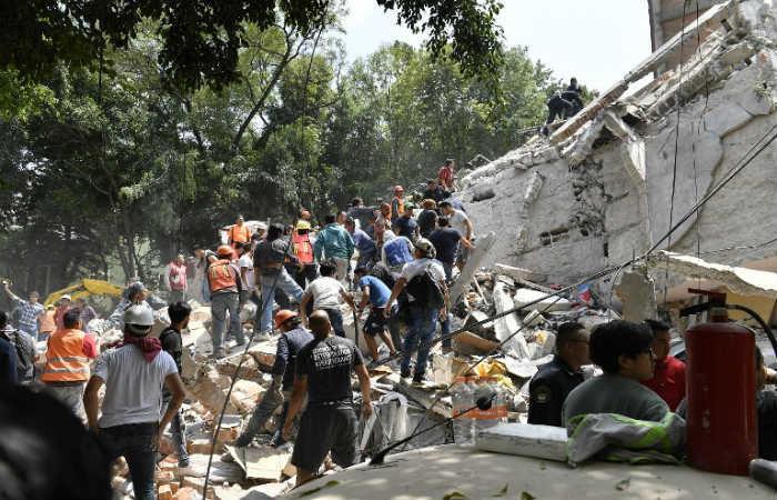 Tras un nuevo sismo en México, dos mujeres murieron de un infarto
