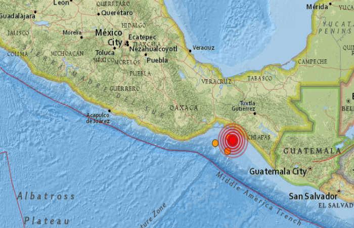 Sismo de 6,4 de magnitud en Ciudad de México