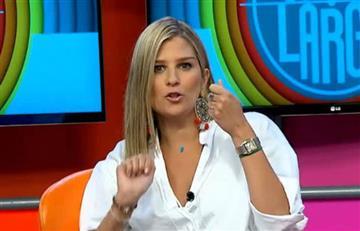 Andrea Guerrero y su polémica y grosera respuesta al 'Patrón' Bermúdez