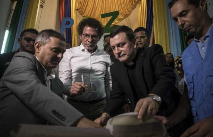 Farc pidió perdón por carrobomba en Granada, Antioquia