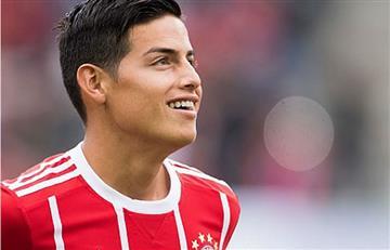 James Rodríguez dice que ahora todos los colombianos son hinchas del Bayern