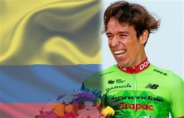 Rigoberto Urán muestra su orgullo de ser parte de la selección Colombia