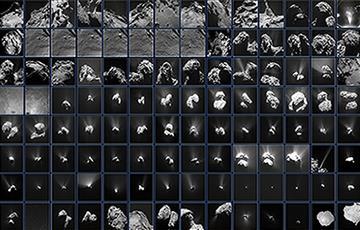Sonda Rossetta: Secuencia de sorprendentes imágenes a su cometa