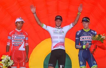 Egan Bernal se ubica de segundo en la general del Giro Della Toscana